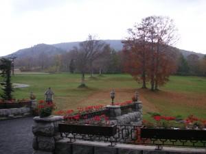 ガーデンテラスも秋の色  10月21日撮影