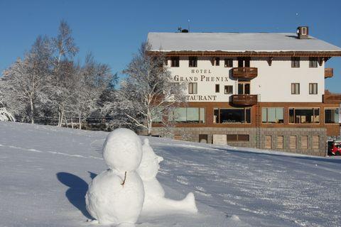 気温-10℃ 雪だるまも元気 12月23日朝撮影