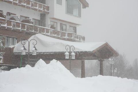2月21日午前9時 気温-10℃