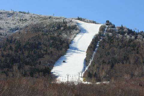 奥志賀高原スキー場 本日の第2ゲレンデ    12月14日撮影