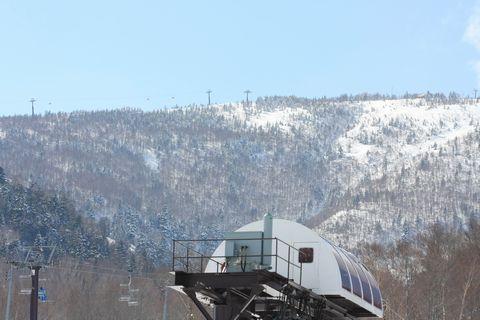 今日も青空 スキー日和    2月19日撮影