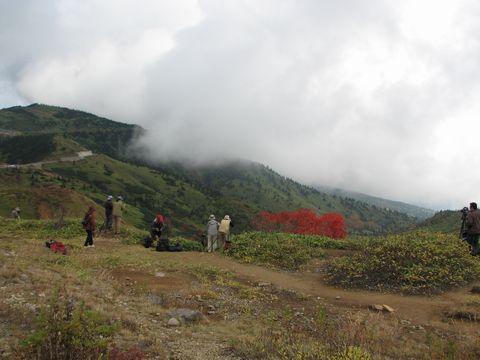 標高  m 渋峠の秋を撮る     10月13日撮影