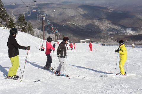 スキーリーダー・小野塚彩那と滑る