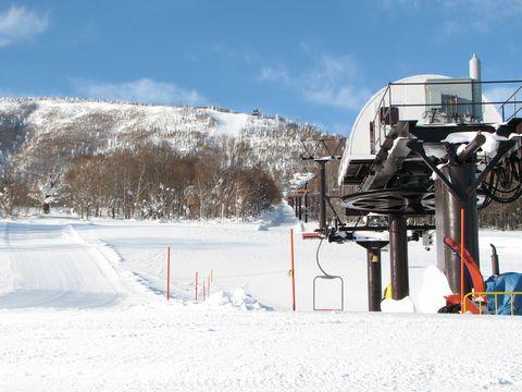 スキー日和が始まります