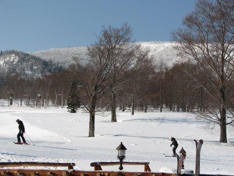 春一番スキー、スタート!