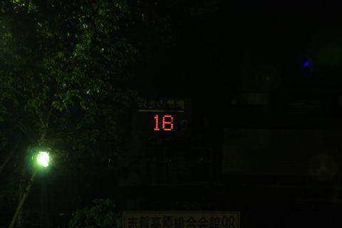 8月12日午後9時 丸池にて