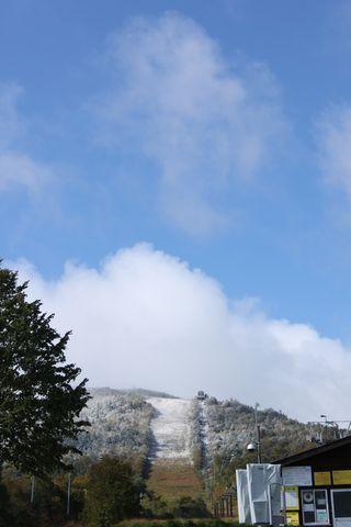 本日の奥志賀スキー場 その1    10月3日撮影