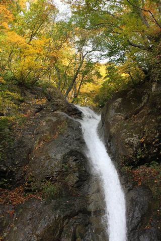 秋山郷 大瀬の滝