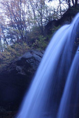 松川渓谷 雷滝       11月3日撮影