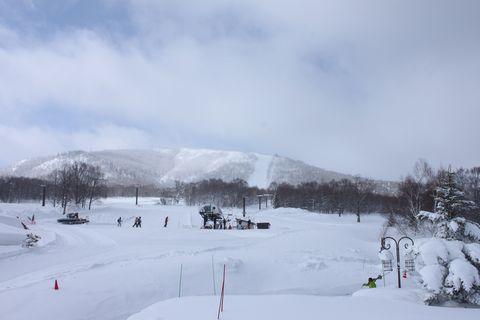 天然雪だけの奥志賀高原スキー場