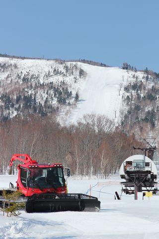 スキー場はシーズン真っ最中!