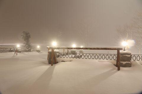 こんな吹雪の夜は・・・
