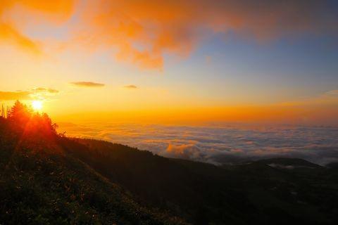 渋峠の雲海    6月20日撮影