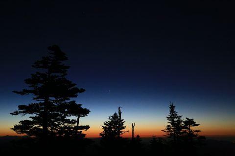 渋峠 夜明け前    10月25日